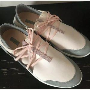 OluKai Miki Li Athletic Shoe Pearl Blush/Pale Gray